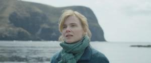 フランスの実力派女優イザベル・カレさん。写真は新作映画ロケで隠岐の島滞在中に撮影したもの